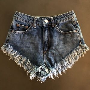 TOPSHOP KIRI Denim Shorts